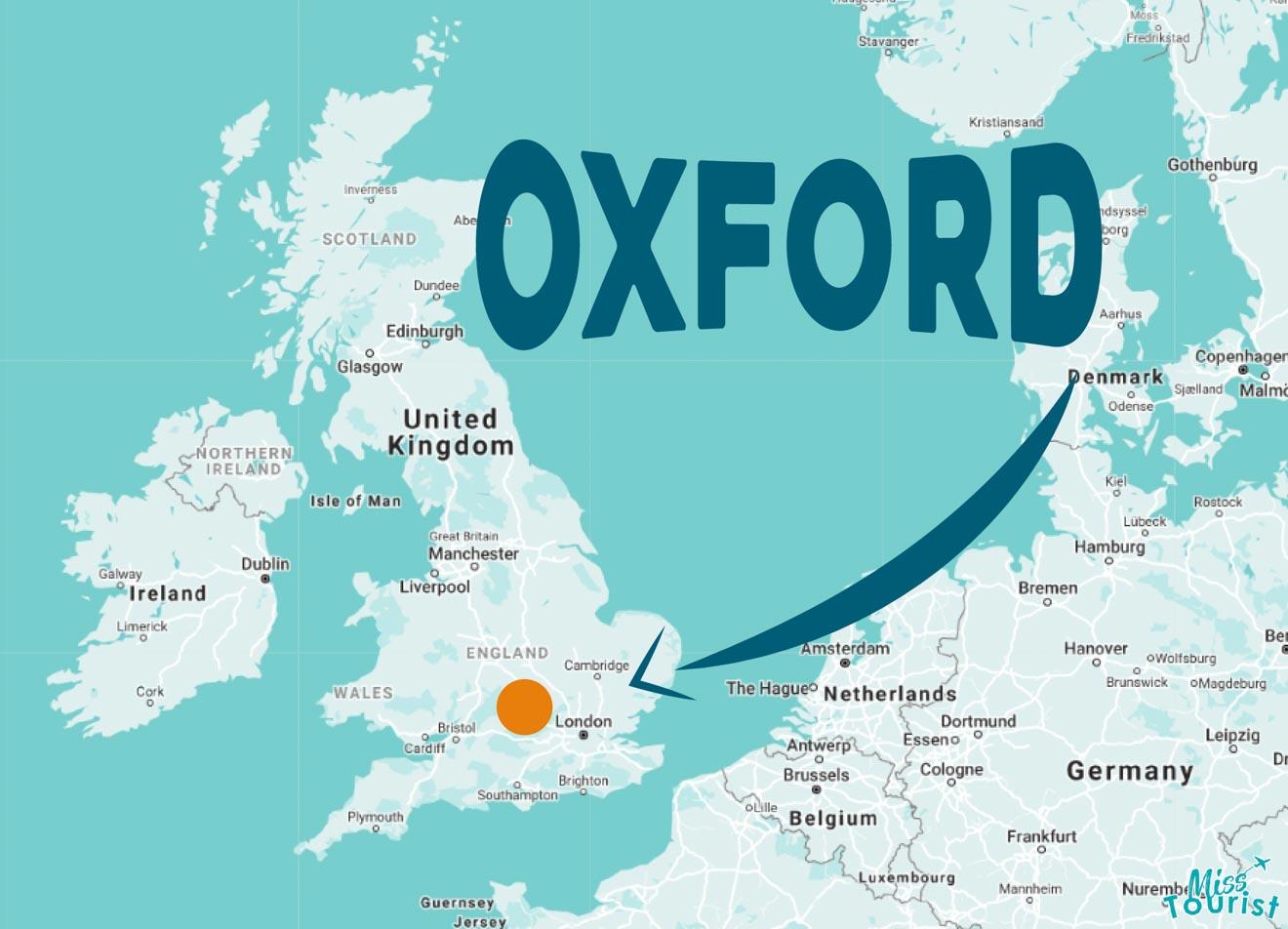 où est oxford