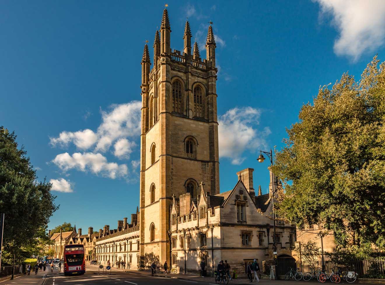 11 choses à faire à Oxford Magdalen College