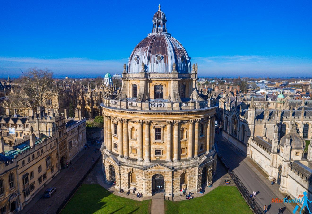 11 choses à faire à Oxford Rewely House The Bear Bodleian Library