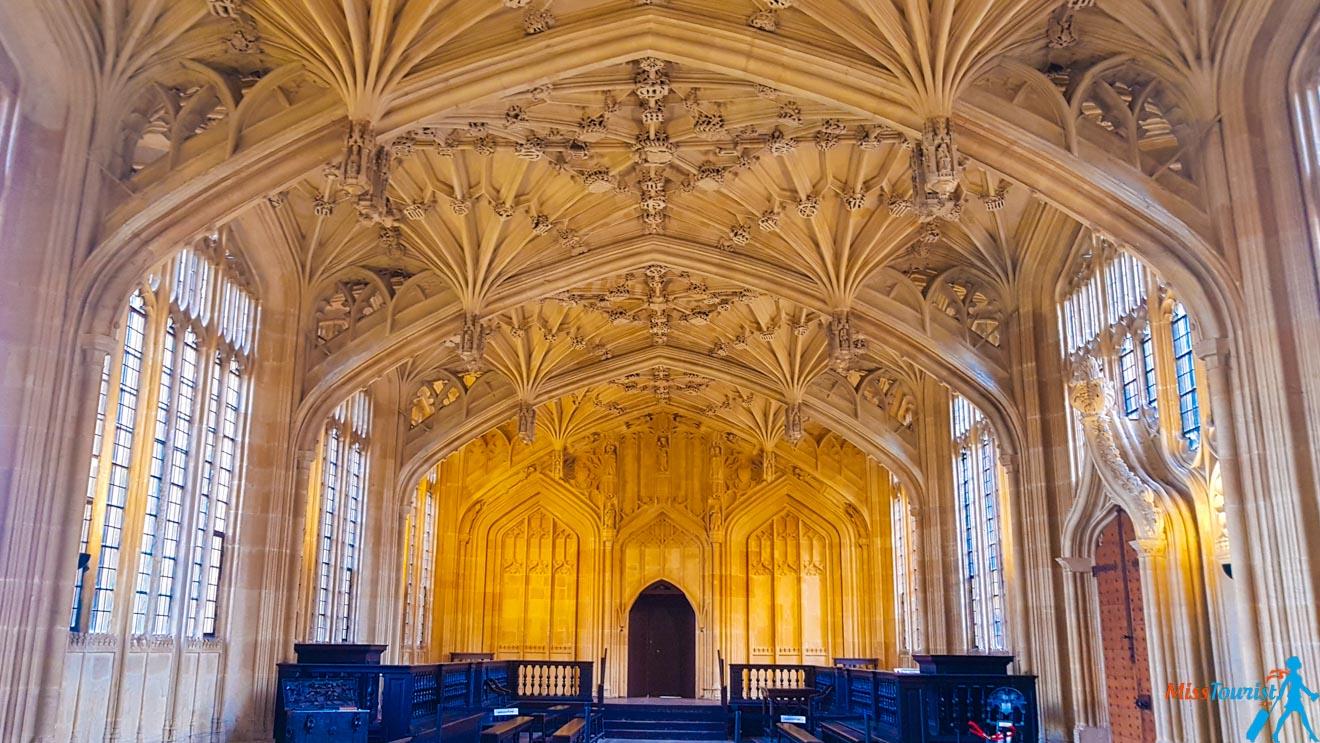 11 choses à faire à Oxford Bodleian Library à l'intérieur