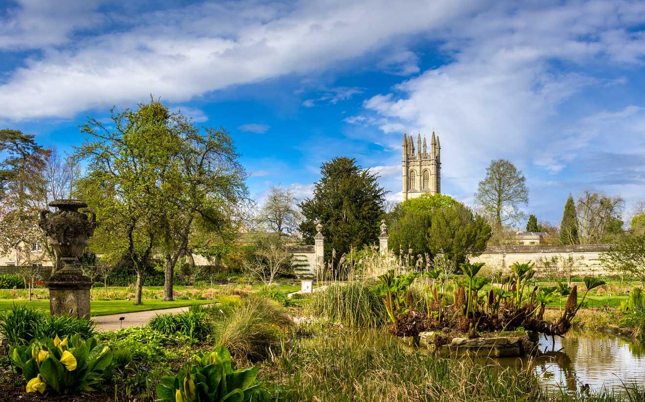 11 choses à faire à Oxford Oxford Botanic Garden