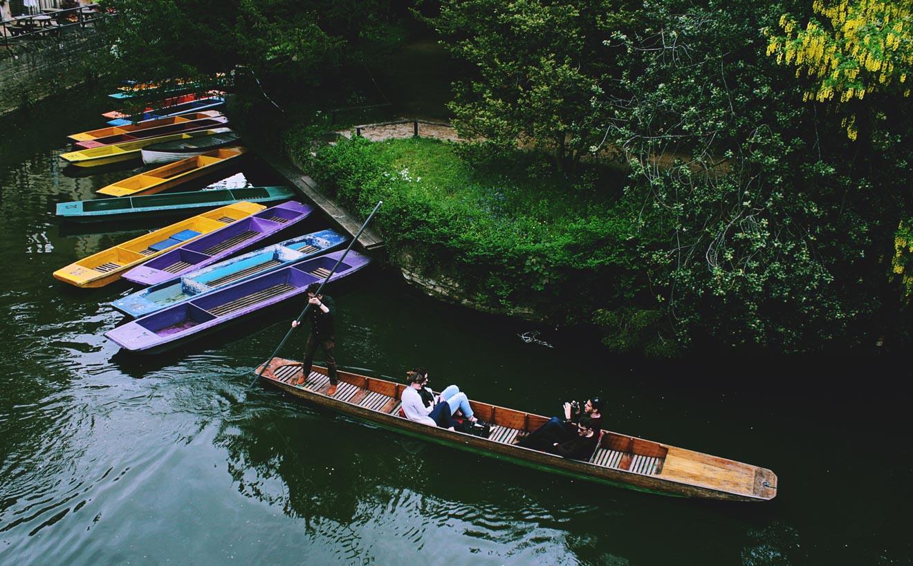 11 Choses à faire à Oxford Punting 2