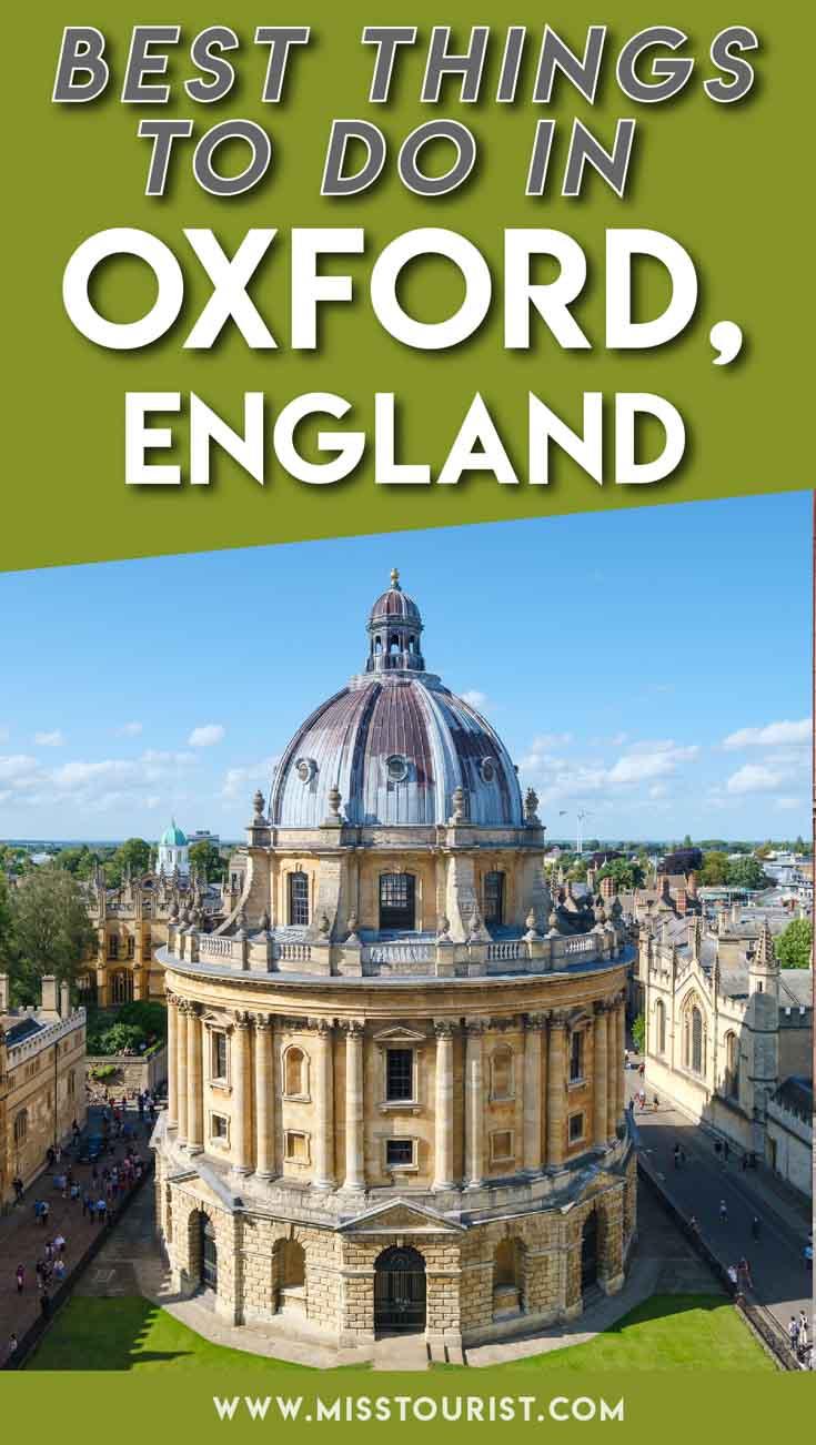 visitez oxford