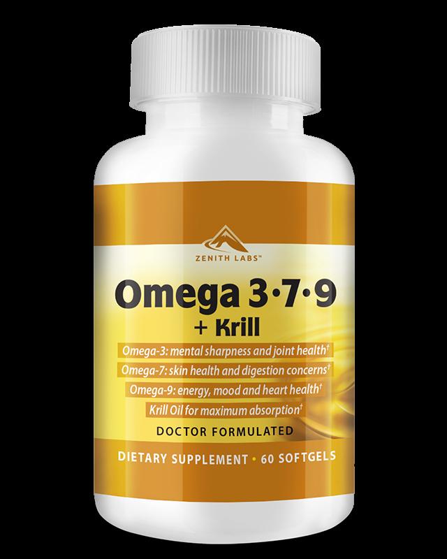Avis sur le Zenith Labs Omega 3-7-9