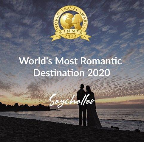 Les îles Seychelles sont la destination la plus romantique du monde de la WTA