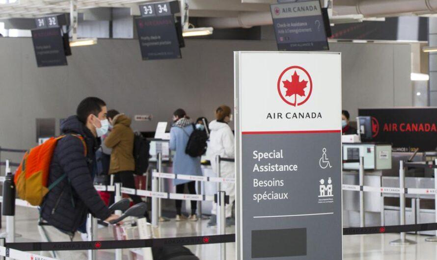 Air Canada offre l'embarquement biométrique en option pour les vols des États-Unis vers le Canada