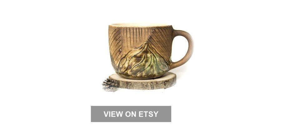 Tasse de café de montagne
