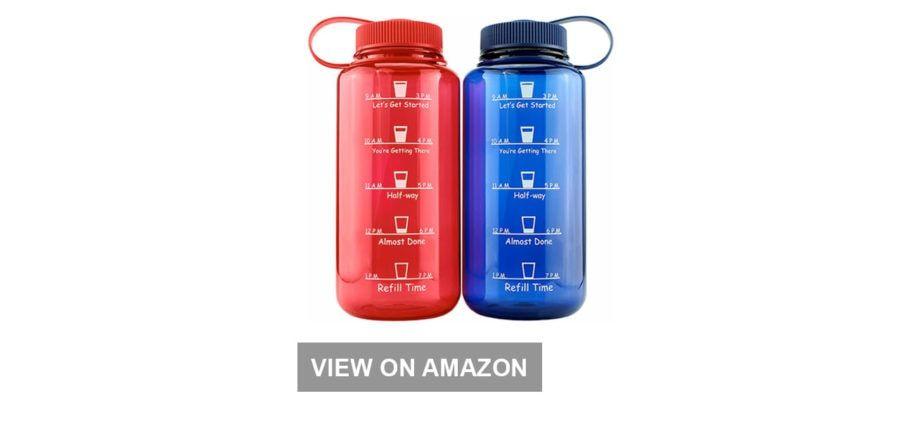 Cadeau de bureau à domicile: bouteilles d'eau