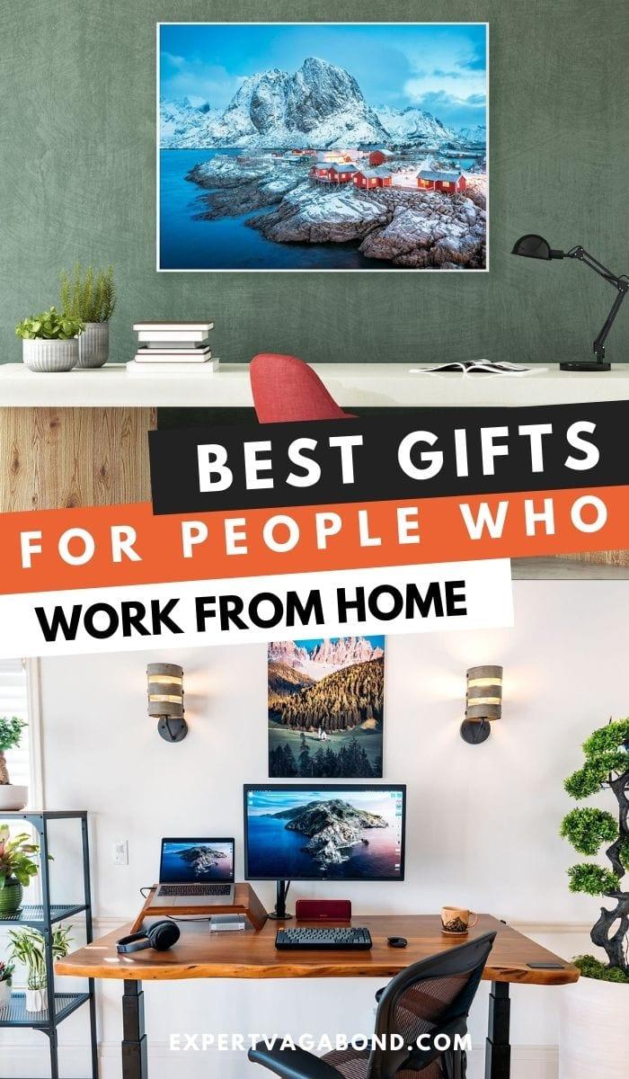 Meilleurs cadeaux pour les personnes qui travaillent à domicile!  Plus sur ExpertVagabond.com