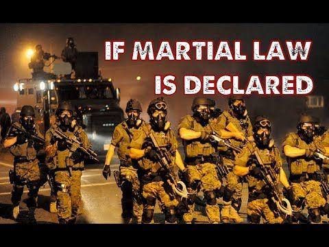 Le président Trump va-t-il imposer la loi martiale aux États-Unis?
