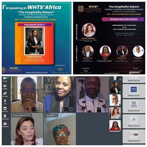 Les Seychelles font leur apparition au salon virtuel «WOW! Sommet des tendances hôtelières 2020 »