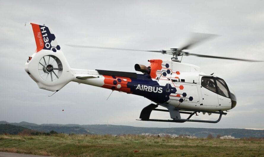 Airbus dévoile son hélicoptère Flightlab