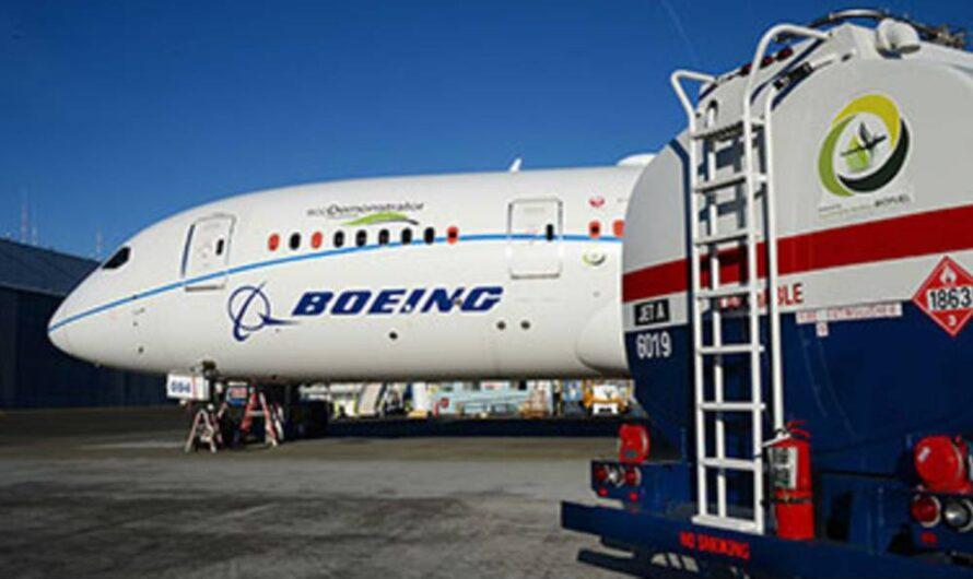 Boeing s'engage à livrer des avions commerciaux prêts à voler avec des carburants 100% durables