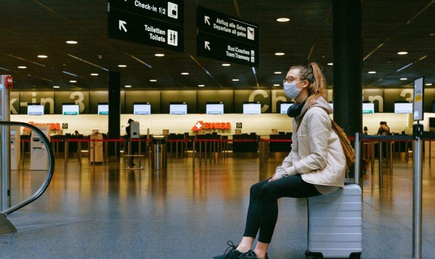 Le trafic aérien international de passagers a chuté de 60% en 2020