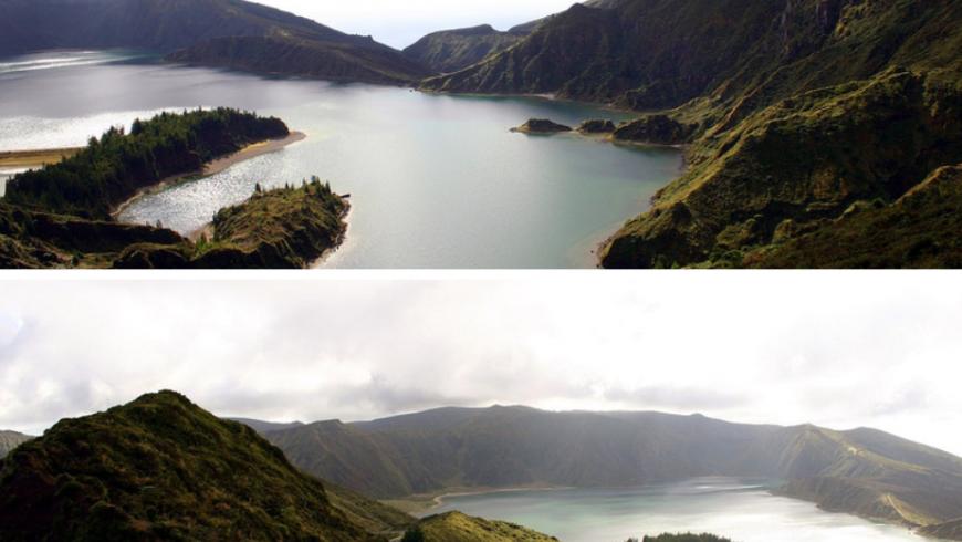 Lagoa do Fogo, île de Sao Miguel, Açores