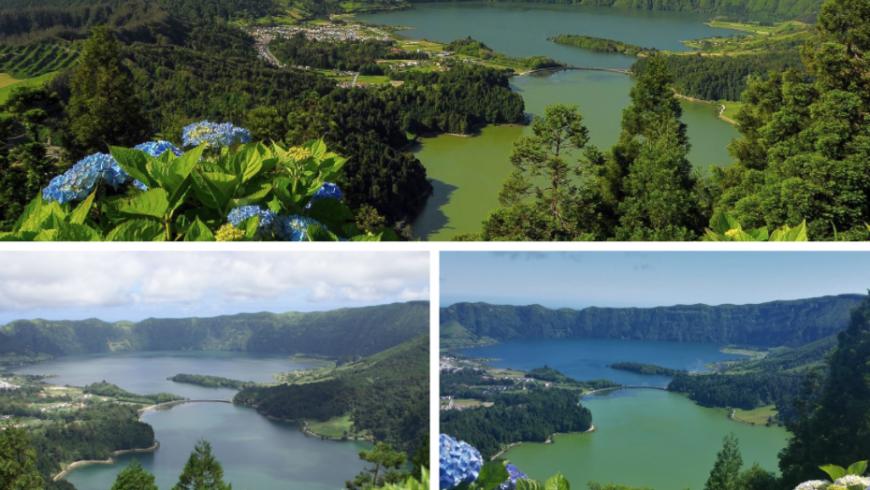 Miradouro Vista do Rei, Açores