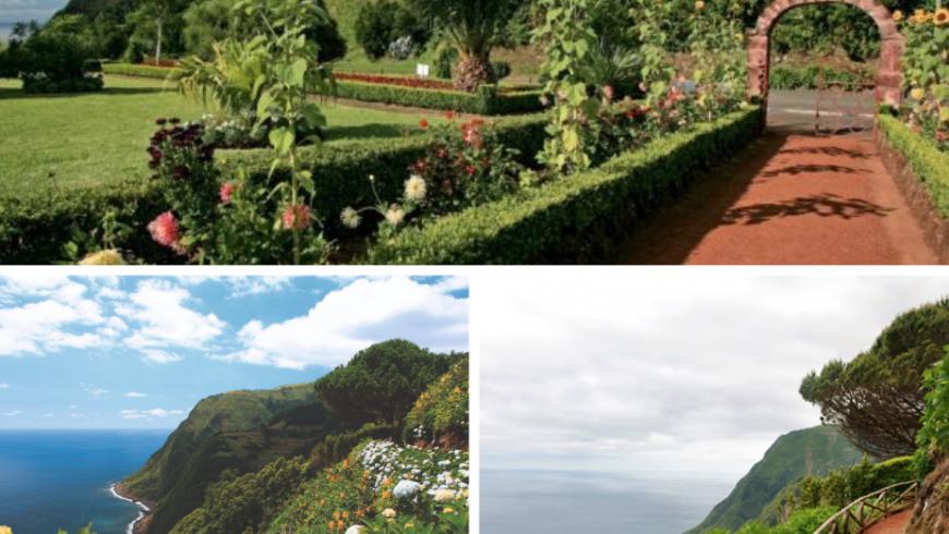 Miradouro da Ponta do Sossego.  Açores