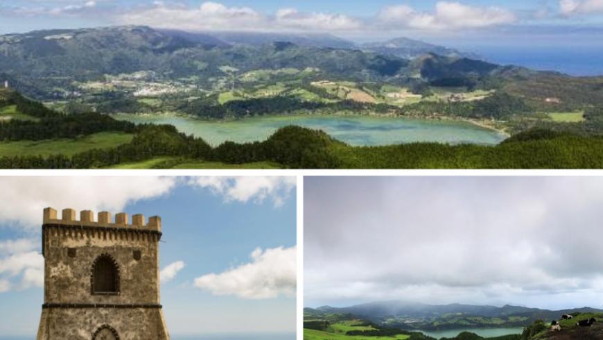 Miradouro do Castelo Branco.  Açores