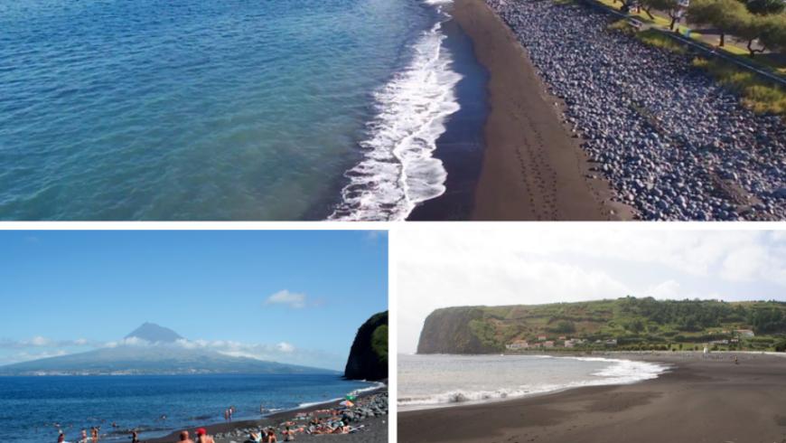 Praia do Almoxarife.  Plage Açores