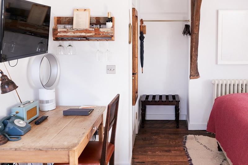 Intérieur de la chambre dans l'hôtel Bed and Breakfast