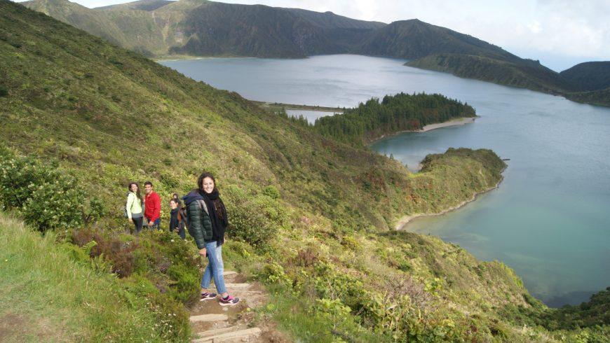 D'un style de vie d'entreprise à un blog de voyage.  Voyage aux Açores