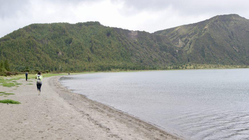 Plage des Açores.