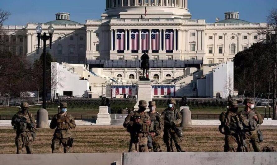 Washington DC est trop calme!  Je me sens en sécurité mais j'ai peur!