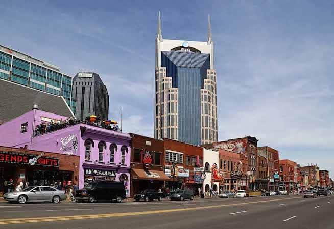 GUIDE HONNÊTE – Où séjourner à Nashville, TN (6 meilleurs quartiers)