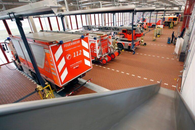 La nouvelle caserne de pompiers 1 de l'aéroport de Francfort est désormais opérationnelle
