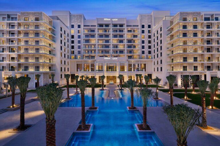 Hilton Abu Dhabi Yas Island ouvre ses portes aux clients
