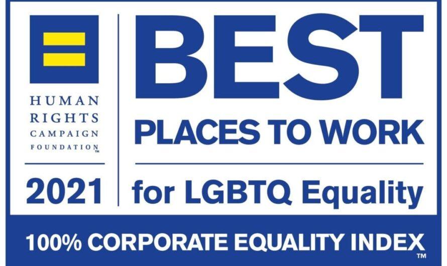 Une autre compagnie aérienne ajoutée à la liste 2021 des «Meilleurs endroits où travailler pour l'égalité LGBTQ»