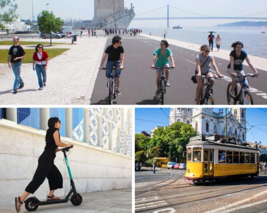 Mobilité verte à Lisbonne.  Impact House.