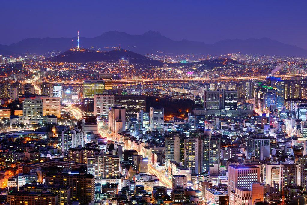 Skyline de Séoul