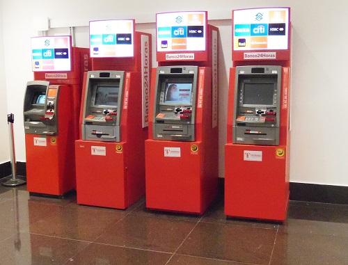 distributeurs automatique-brésil-argent