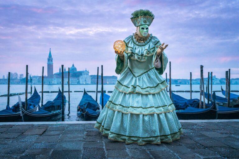 20 photos magiques du carnaval de Venise!