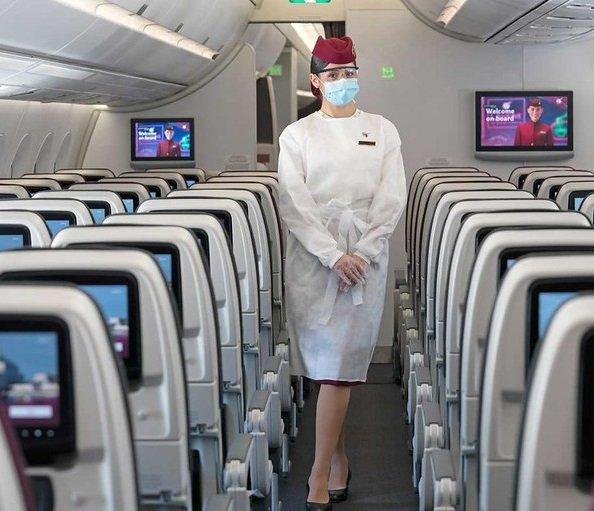 Les compagnies aériennes les plus sûres pendant COVID sont Qatar Airways, Emirates, Etihad, Delta Air Lines et 14 autres