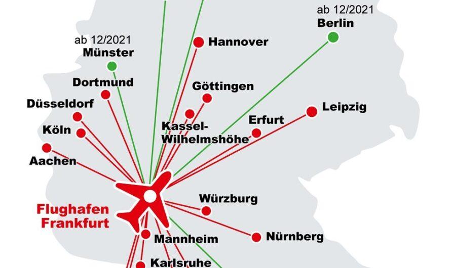 Lufthansa et Deutsche Bahn dévoilent des trains DB Sprinter extra-rapides à destination de l'aéroport de Francfort