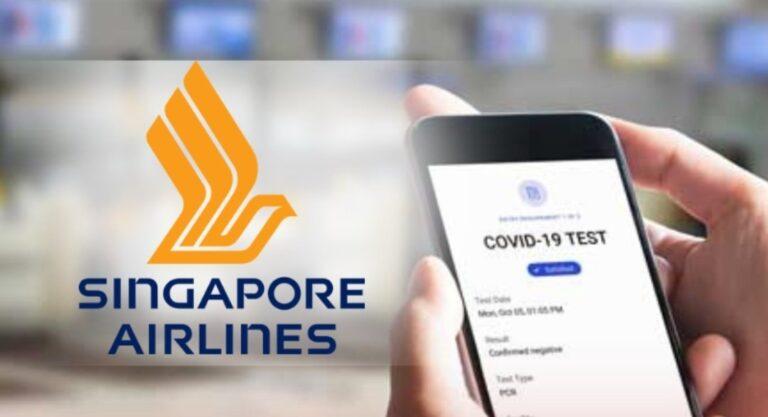Singapore Airlines va tester le « passeport COVID-19 » sur ses vols à Londres