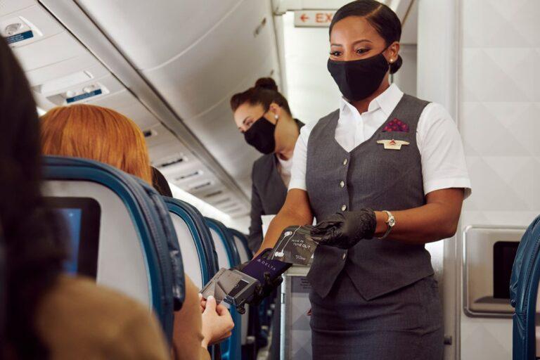 Delta Air Lines introduit le paiement sans contact à bord