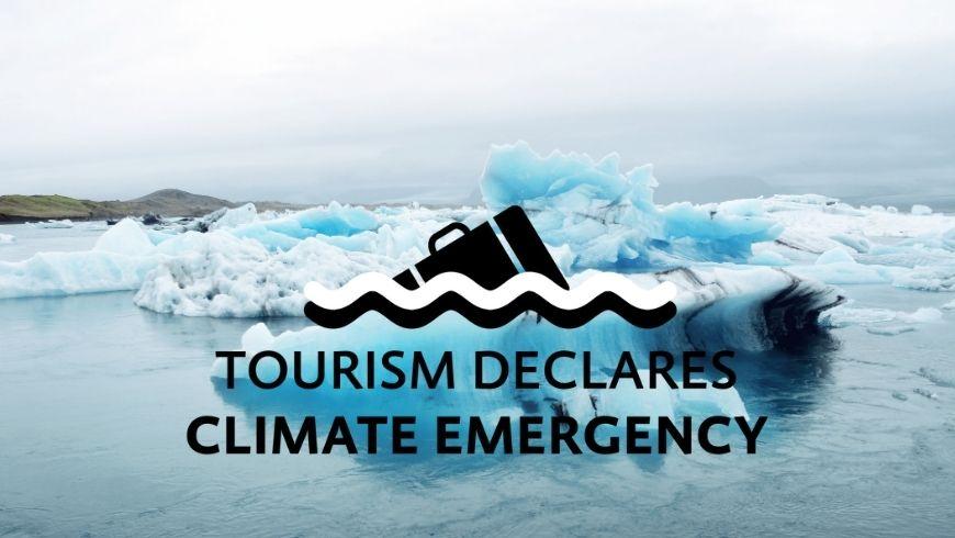 le tourisme déclare l'urgence climatique