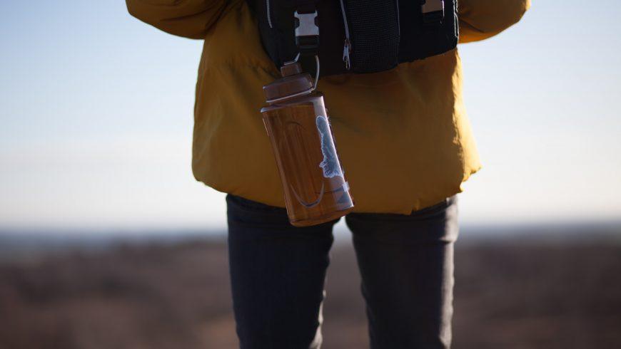 bouteille d'eau réutilisable
