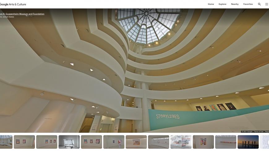 Musée en ligne Guggenheim, New York
