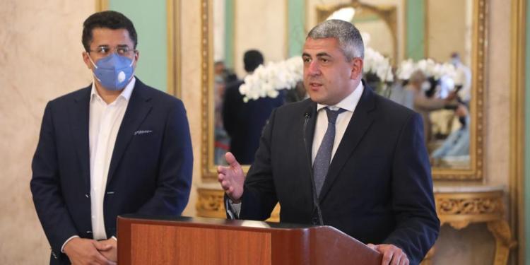 Le Mexique et la République dominicaine joués par Zurab Pololikashvili