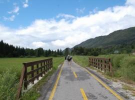 Une piste cyclable des Alpes à la mer en Frioul