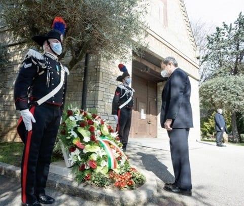 Le Premier ministre italien rend hommage à la Journée des victimes du COVID