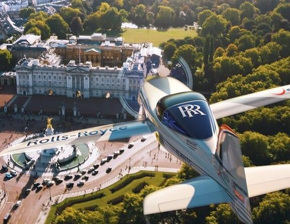Un avion tout électrique en route vers le record du monde