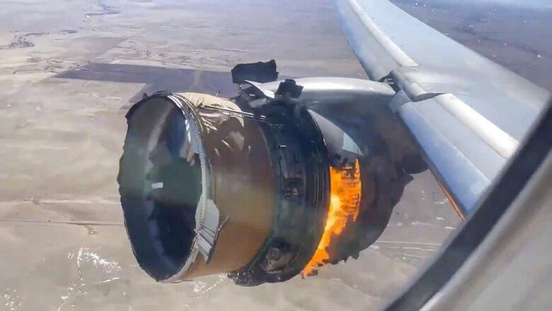 Des passagers traumatisés par une perte de moteur violente en vol poursuivent United Airlines