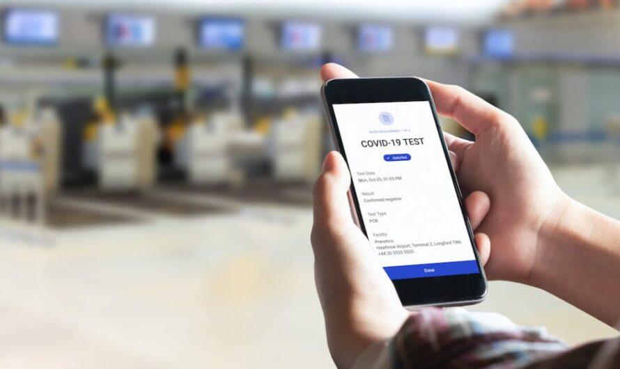 9 voyageurs sur 10 seraient à l'aise d'utiliser des passeports médicaux numériques