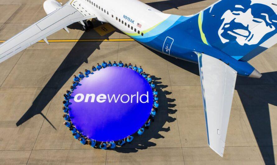 Alaska Airlines rejoint officiellement l'alliance oneworld
