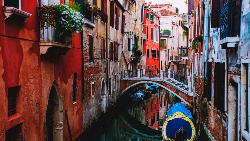 Venise, l'un des endroits susceptibles de disparaître à cause du réchauffement climatique